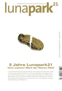 lunapark 21 - heft 23 - vom wahren wert der waren-welt