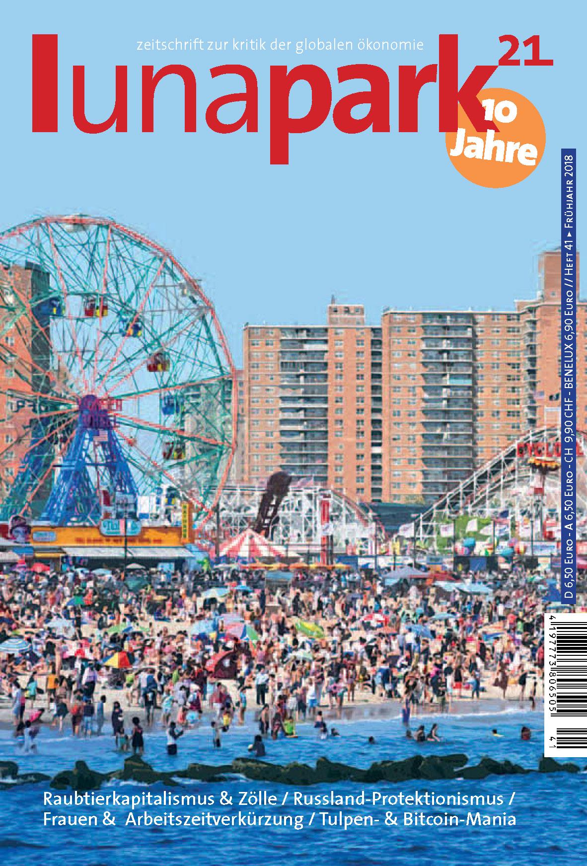 Cover Lunapark21 Heft 41